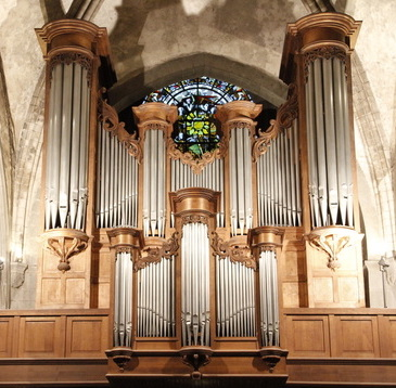 Cathédrale de Saint Malo Grand orgue Koenig