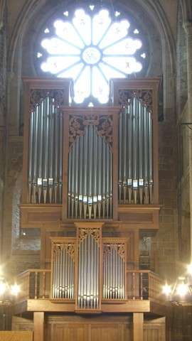 Inauguration orgue de ND de Vire (Manche)