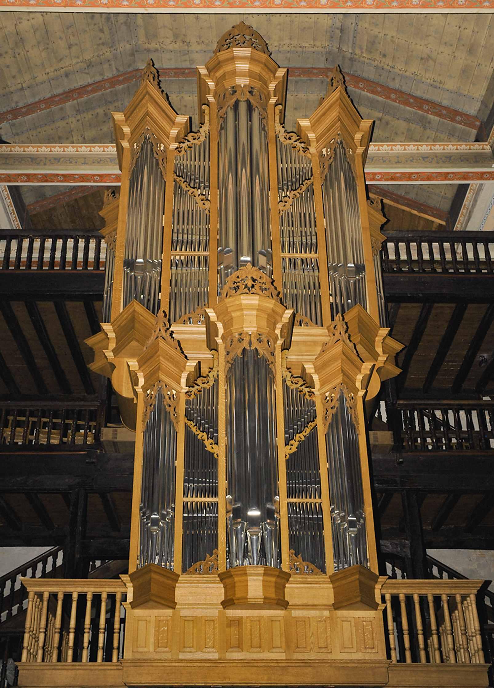 Orgue de Saint-Vincent de Cibourne