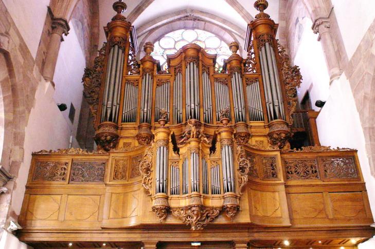 Orgue de l'église Saint Thomas - Strasbourg