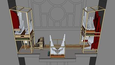 Etude de l'orgue D. Lacorre - Saint-Louis de Vincennes