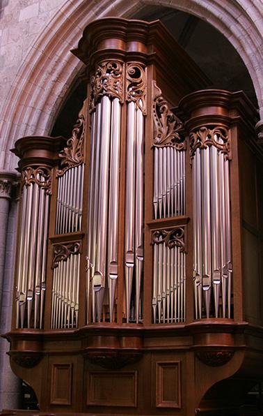 Cathédrale de Saint Malo Orgue de choeur Koenig