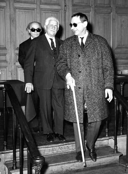Jean Langlais, André Marchal et Gaston Litaize