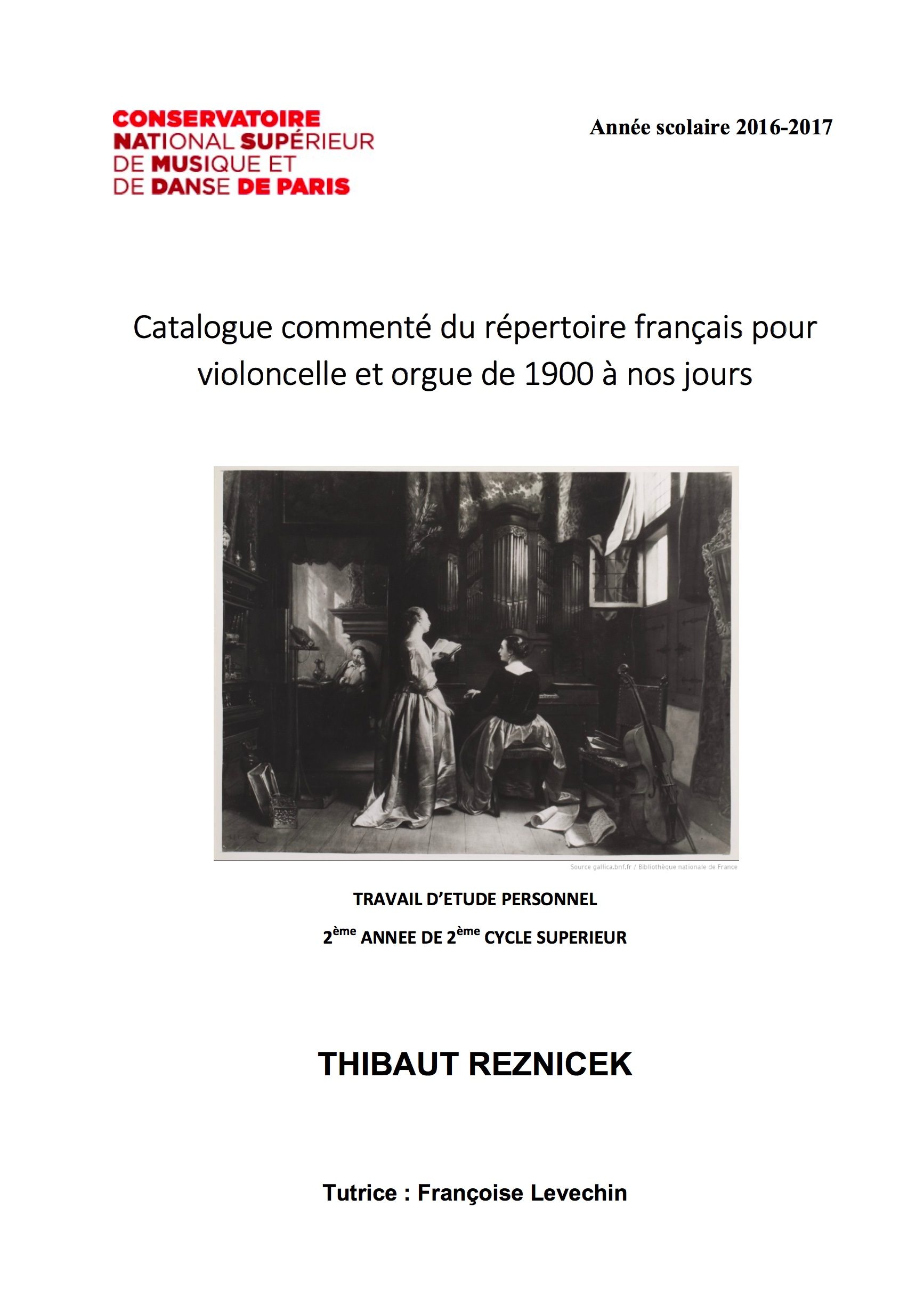 Catalogue Thibaut Renizcek