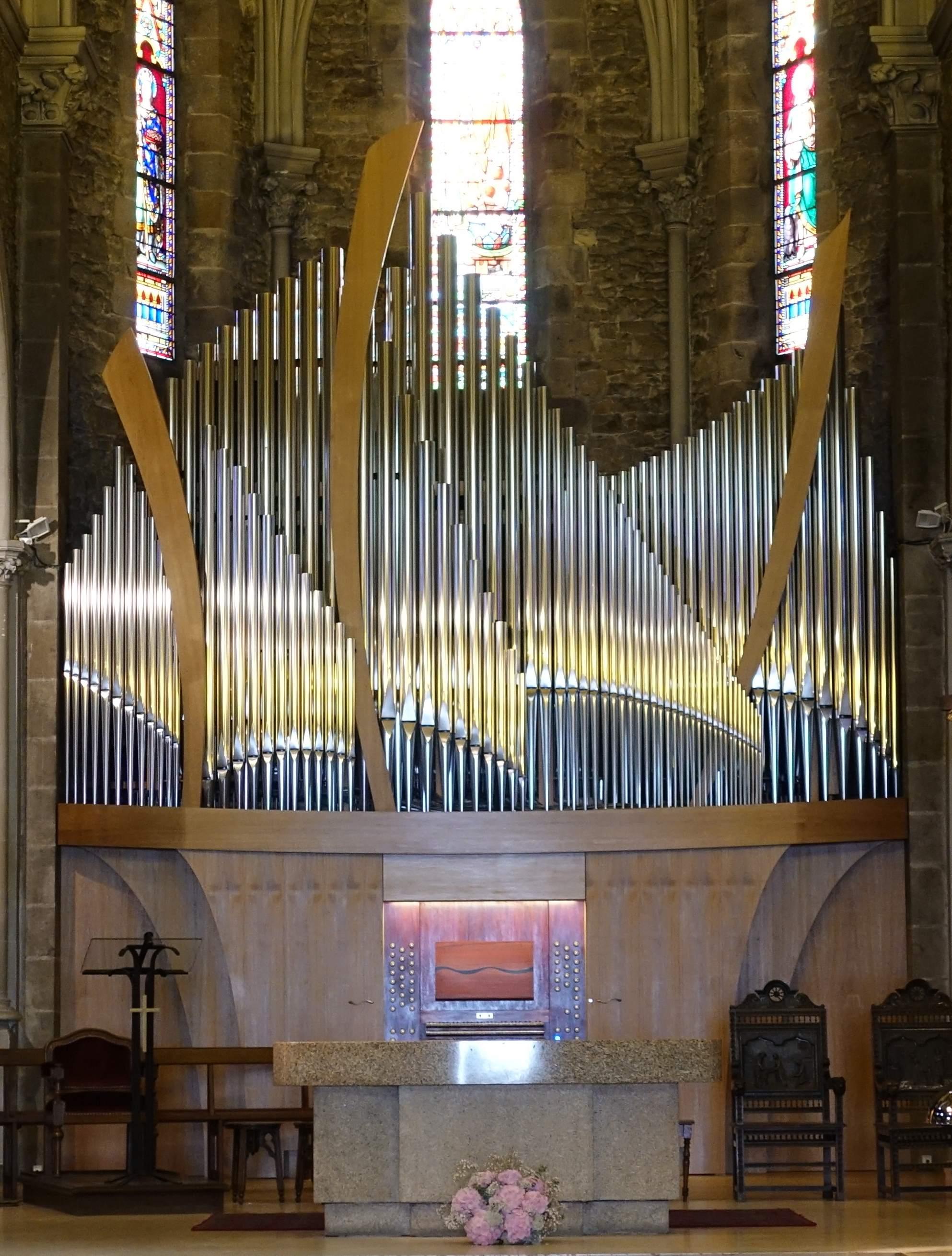 Le nouvel orgue du Pouliguen