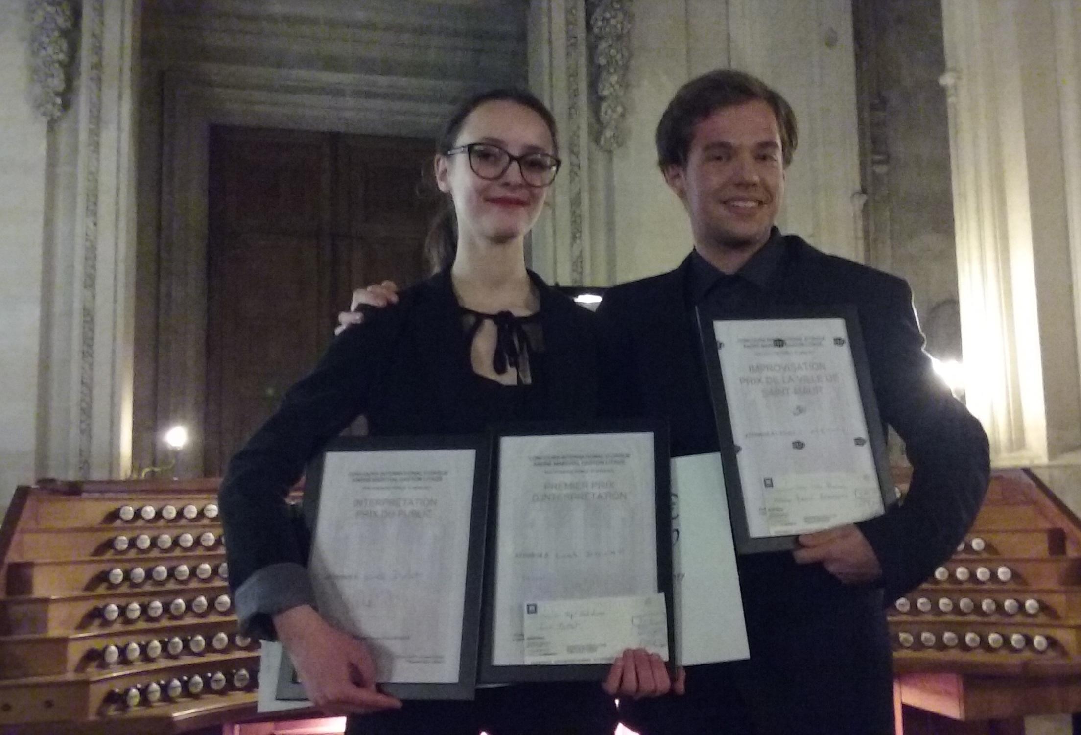 Lucile Dollat et Gabriele Agrimonti